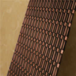 정면 (MT-FACADE001)를 위한 장식적인 철망사
