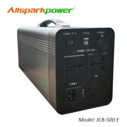 최신 고품질 휴대용 힘 은행 500wh 태양 에너지 공급 (E) JCB-500