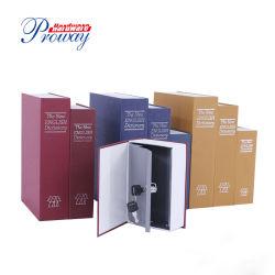 Libro Diccionario de la desviación de Cajas de seguridad con la llave de seguridad antirrobo Secret Box/ dinero escondido Box/ Caja de Colección
