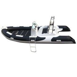 Rib520c 스피드 낚시 제트스키 알루미늄 카약 알루미늄 스키 리브 카약 모터 승객 팽창식 스포츠 요트 폰툰 바다 보트 판매