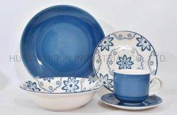 تصميم الزهور عشاء من الأدوات المخصصة لتناول الطعام في مطعم Mug Bowl