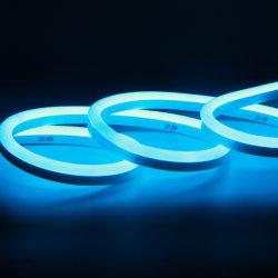 Kerstfeest Bruiloft Decoratie Light DC24V Flexible SMD2835 LED Neon Lampen waterdicht Blauw Kleur