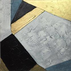 Moderne Floater frame het Met de hand gemaakte Abstracte Olieverfschilderij van het Canvas van de Kunst van de Muur voor de Decoratie van het Huis