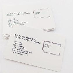 بطاقة SIM لاختبار شبكة GSM 3G LTE لـ Agilest 8960 (فتحة 2FF/3FF/4FF)