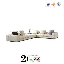 China-Hersteller-Großverkauf-Ausgangsmöbel-Wohnzimmer-Leinengewebe-Schnittsofa
