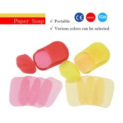 Оптовая торговля Custom одноразовые портативный мини-мыть руки мыло бумаги