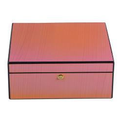 木箱を包む新しいデザイン贅沢によってラッカーを塗られる腕時計の宝石類