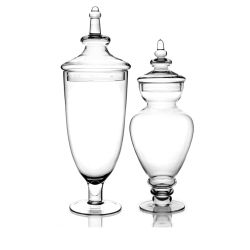 Logo d'impression prix d'usine 600ml Bougie en verre hermétique décoratifs cadeau apothicaire Bocal avec couvercle Big