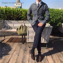La moda casual Ropa de hombre ropa personalizada Chaqueta Hombre chaquetas de Safari de mens