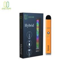 Hybride Vape cire 3 en 1 stylo avec pointe du verre 510 rechargeables cartouche de la CDB