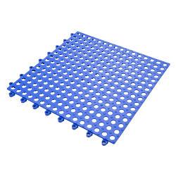 유연한 PVC 맞물리는 지면 도와 300X300mm PVC 모듈 지면 매트