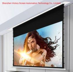 Победы на заводе оптовые дешевые цены на потолке перейдите на вкладку с электроприводом напряженности проекции Alr экран проектора скатываться вниз проектор для домашнего кинотеатра