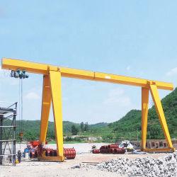 Utilisé en plein air de 30 tonnes d'une grue à portique Châssis poutre unique