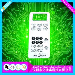 Riparare la tastiera di rame della membrana del circuito di Sofo con affissione a cristalli liquidi
