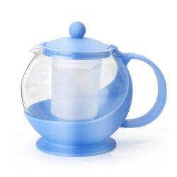 Bouilloire en verre isolé Kongfu Fleur pot de café thé ensemble