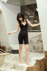 Gebreide Senselast Shapewear Bodysuit voor dames