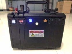 Garantie 5 ans 4 piles LiFePO4 12V 1,54kwh 120ah Solar portable Banque d'énergie