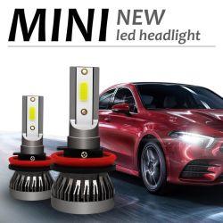 Voiture Mini projecteur lampe H4 ampoules LED H11 LED H7 H1 Kit de phares 9005 HB3 9006 HB4 6000K de feux de brouillard lampe LED 12V 36W 8000lm