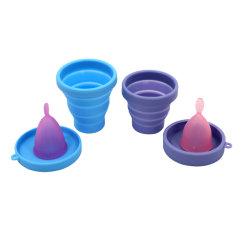Одноразовые 100% медицинского класса силиконовая чашка для менструального цикла менструации