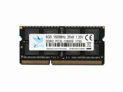 Zifei RAM de 8 GB DDR3 1333 MHz 1600MHz 1,5V 204o pino do módulo SO-DIMM de memória de notebook para laptop