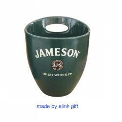 Dispositivo di raffreddamento di plastica basso della benna di ghiaccio di MOQ Jameson per il rum del whisky di Champagne della birra
