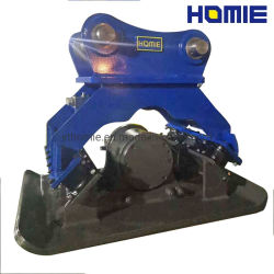 El doble de forma reversible de la vibración de la excavadora Compactador