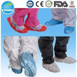 Cubierta antideslizante del zapato, cubierta anti del zapato del resbalón, cubierta no tejida a medias revestida del zapato de los PP