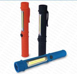 자석을 사용한 포켓 COB 3W LED 펜 작업등