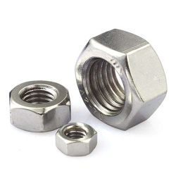 Noci di ostruzione Hex dell'acciaio inossidabile SS304 SS316 del acciaio al carbonio del fermo DIN934 ASTM 18.2.2