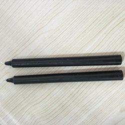 Prix bon marché la cire de paraffine de couleur noire Stick forme bougies