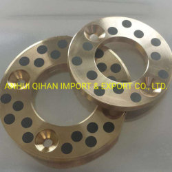 Oilless Bronze Thrust Washer mit Graphite Plug Bearing Bush