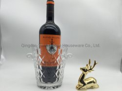 Forma geométrica Vidro cristal balde de gelo para Conjunto de Vinho