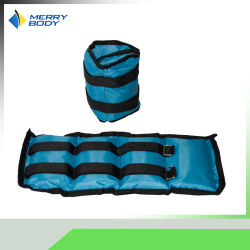 حقيبة رمل مجانية في وضع الوقوف للكاحل ووزن المعصم حقيبة رمل قوية الرجل