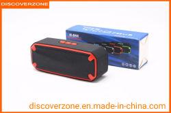 Radio senza fili portatile esterna della scheda di Subwoofer dell'altoparlante di Bluetooth del regalo del cubo dell'acqua H-844 mini
