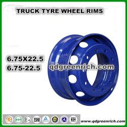 Roue de pneus de tracteur agricole 22.5X6.75 6,75 X22.5 Tubless pneu 6.75-22.5 jantes, 22,5, 22,5 de la jante de roue 9r22.5 10r22.5 pneu 255/70R22.5 La jante de roue, LTR Jante de pneu