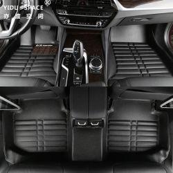 Großhandels Matten des Abnützung-Antibeleg-imprägniern Auto-Fußboden-5D schwarze