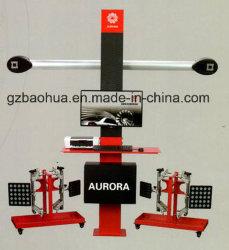 Alineación de ruedas de coche en 3D/3D de la máquina 4 alineador de ruedas