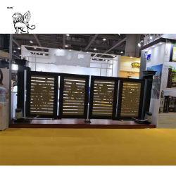 Cancello piegante Rgm-05 del portello ritrattabile elettrico di alluminio del rifornimento della fabbrica