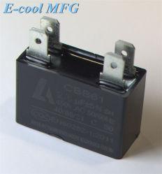 Cbb61 ACモーターコンデンサー(プラスチックケース) 3UF