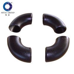 La norme ANSI B16.9 en acier au carbone du raccord de tuyau en acier inoxydable Buttweld Lr Bw coude à 90 degrés
