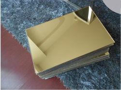 Il prezzo competitivo comercia l'oro dello specchio di 4*8FT/strato dell'argento/plexiglass all'ingrosso acrilici strato acrilico acrilico/sporto di PMMA/Cast