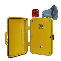 Telefone Industrial SIP VoIP telefone intercomunicador Telefone IP sem mão de emergência