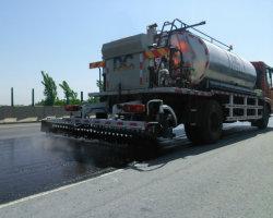 Gebruikte Automatische Machines 8cbm van de Bouw de Spuitbus van het Bitumen van de Verdeler van het Asfalt