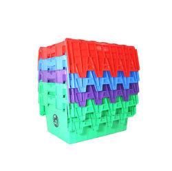 Contenitore di memoria di plastica materiale dei pp con il coperchio