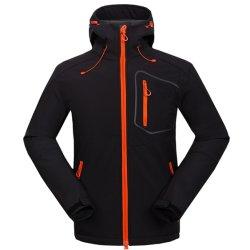 Lagen van het Jasje Sportwear Met een kap van Softshell van het Water van mensen Openlucht Afstotende 3