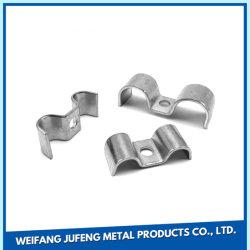 Placage de pièces métalliques personnalisées Nickle Stamping porte clip ressorts de contact de la batterie