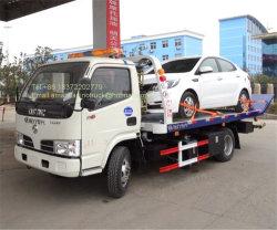 Dongfeng 4.2/5.2 tester di inclinazione del cassetto 3ton Lowbed di automobile dell'elemento portante di Wrecker idraulico della strada
