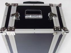 Mallette à outils dur d'aluminium métallique peut être retiré de la parties supérieure et inférieure