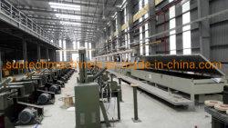 MIG/CO2/vio a la producción de alambre de soldadura máquina Línea de revestimiento de cobre