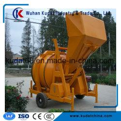 Diesel Concrete Mixer met Hydraulische Tippende Vultrechter Rdcm35011DHA